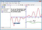 Screen shot of Graph showing examples of text labels.